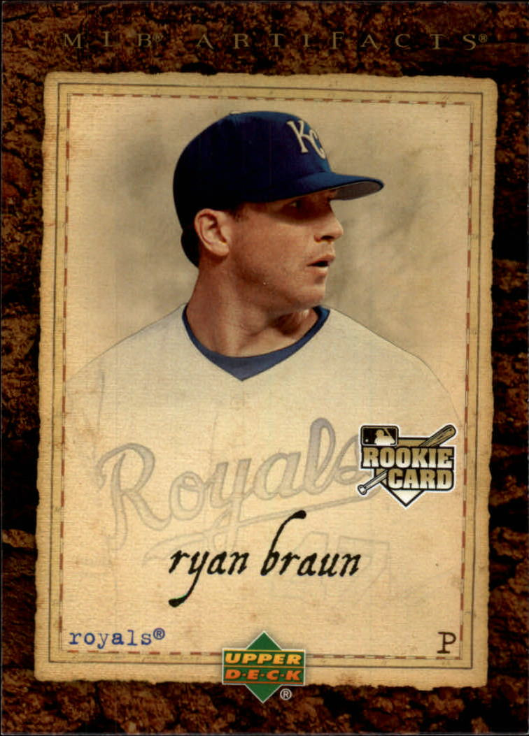 2007 Artifacts #96 Ryan Braun RC