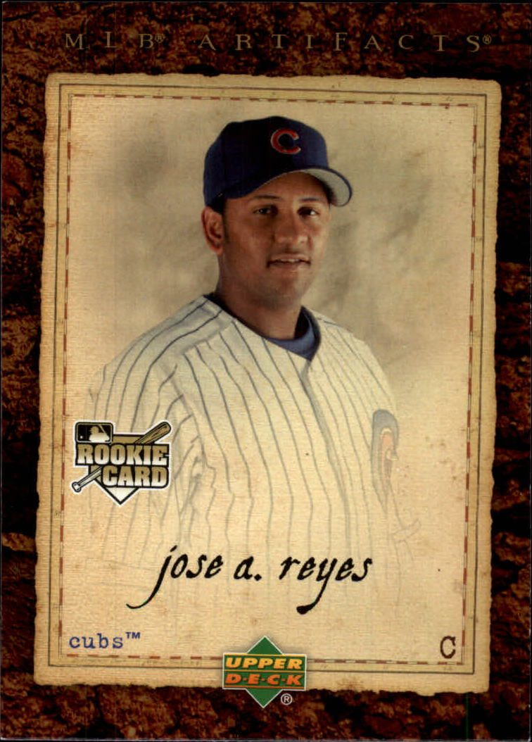 2007 Artifacts #99 Jose Reyes RC