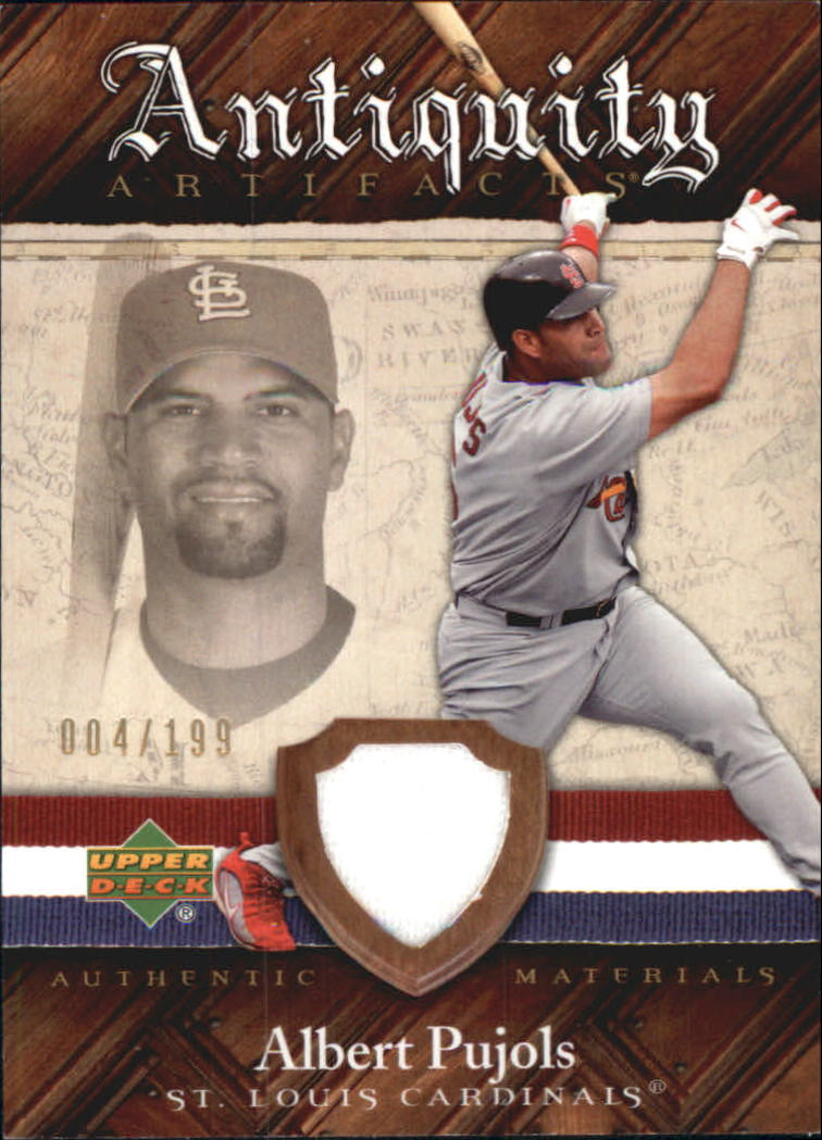 2007 Artifacts Antiquity Artifacts #AP Albert Pujols