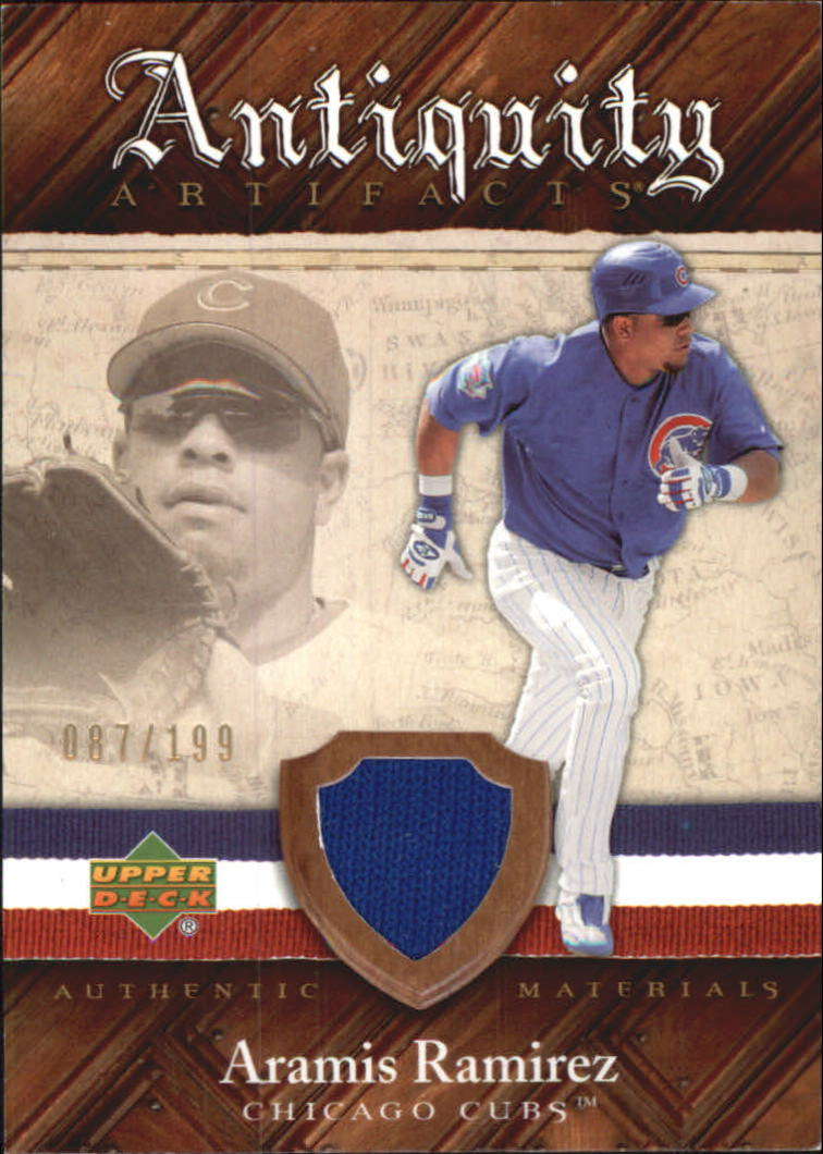 2007 Artifacts Antiquity Artifacts #AR Aramis Ramirez