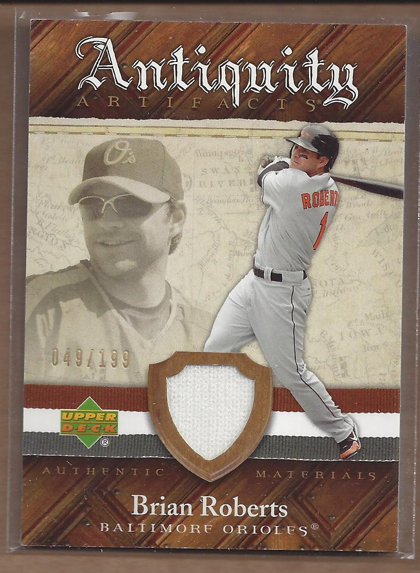 2007 Artifacts Antiquity Artifacts #BR Brian Roberts