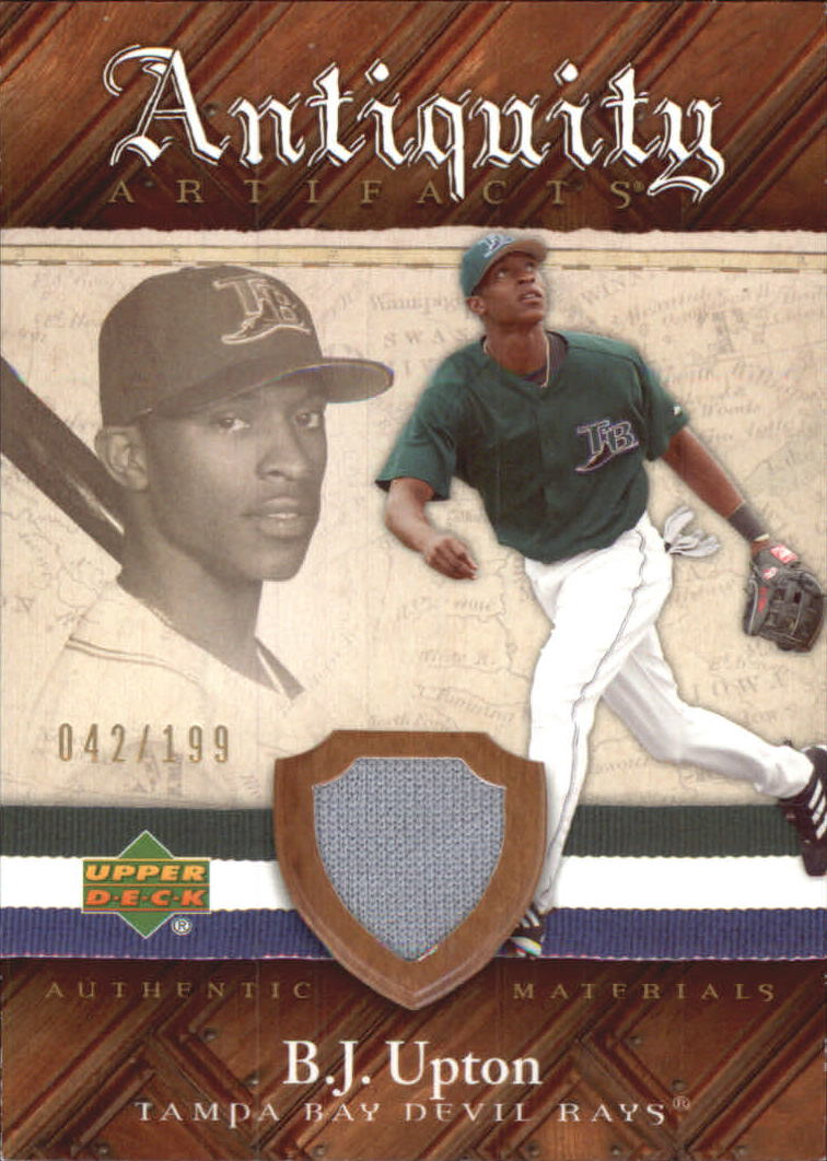 2007 Artifacts Antiquity Artifacts #BU B.J. Upton