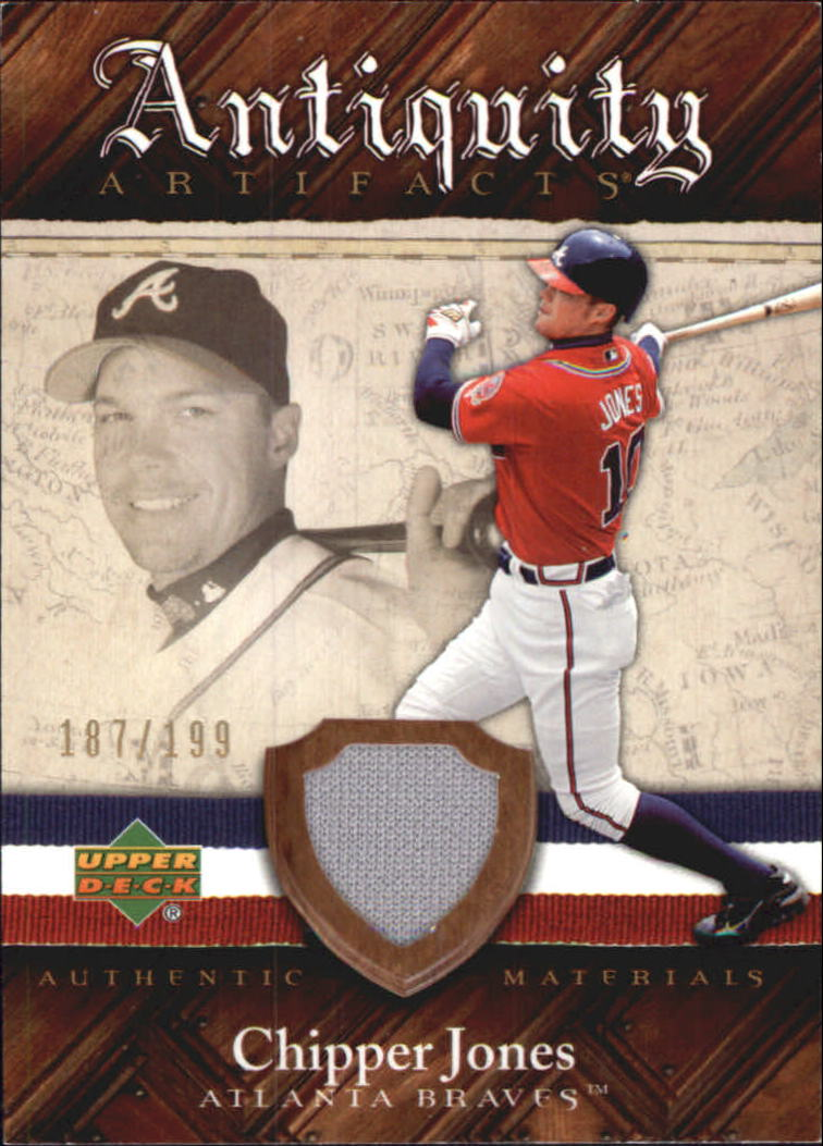 2007 Artifacts Antiquity Artifacts #CJ Chipper Jones