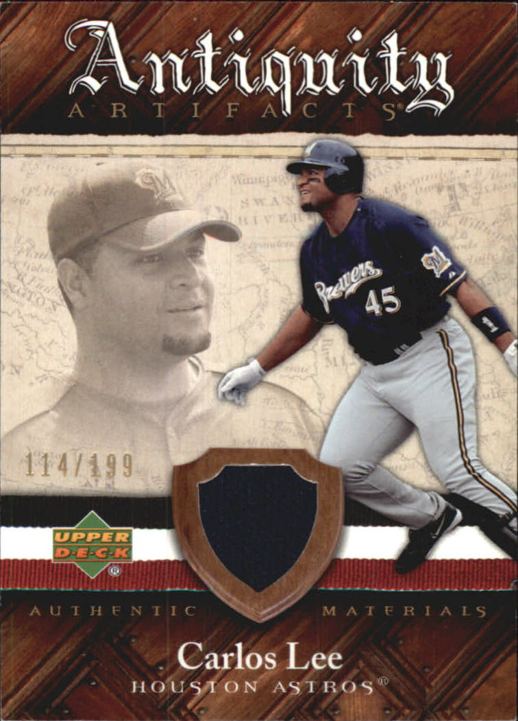 2007 Artifacts Antiquity Artifacts #CL Carlos Lee