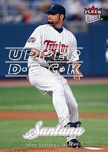 2007 Ultra #105 Johan Santana