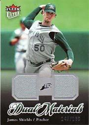 2007 Ultra Dual Materials #JS James Shields