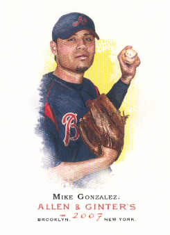 2007 Topps Allen and Ginter #2 Mike Gonzalez