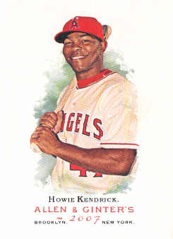 2007 Topps Allen and Ginter #8 Howie Kendrick