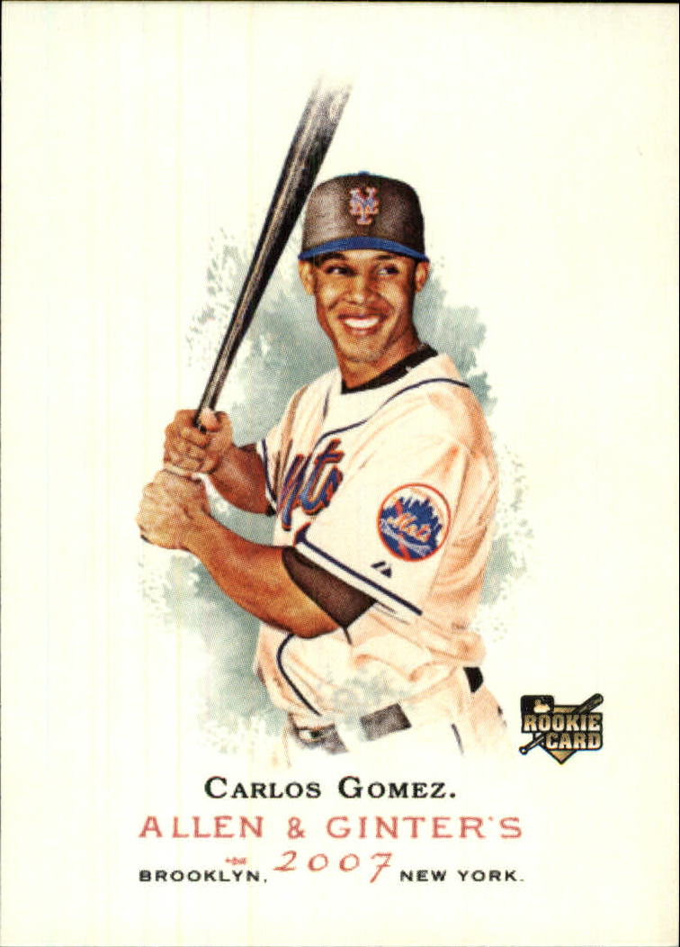 2007 Topps Allen and Ginter #133 Carlos Gomez RC
