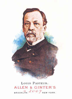 2007 Topps Allen and Ginter #169 Louis Pasteur