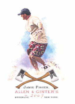 2007 Topps Allen and Ginter #174 Jamie Fischer