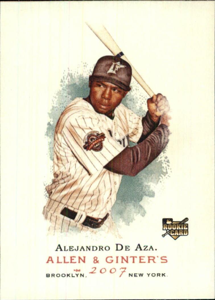 2007 Topps Allen and Ginter #199 Alejandro De Aza RC
