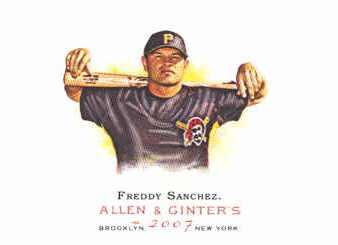 2007 Topps Allen and Ginter #201 Freddy Sanchez