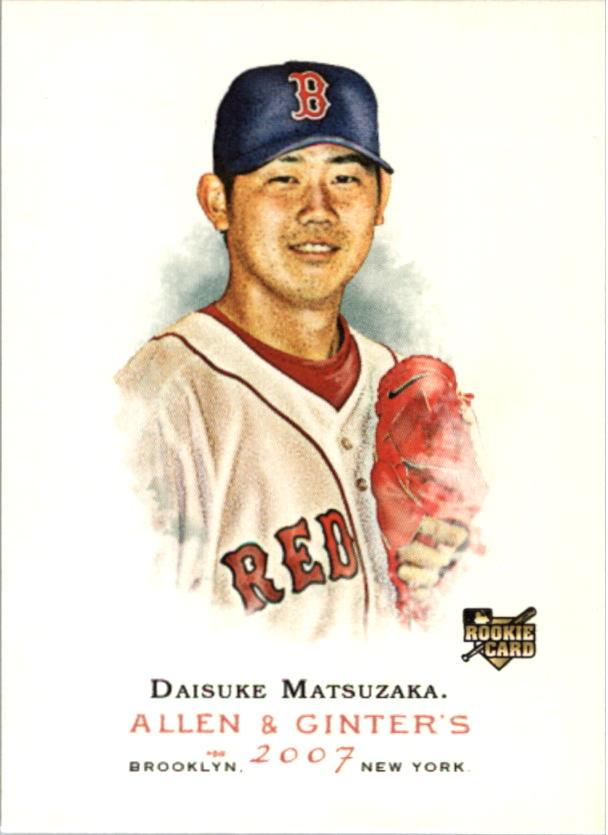 2007 Topps Allen and Ginter #210 Daisuke Matsuzaka RC