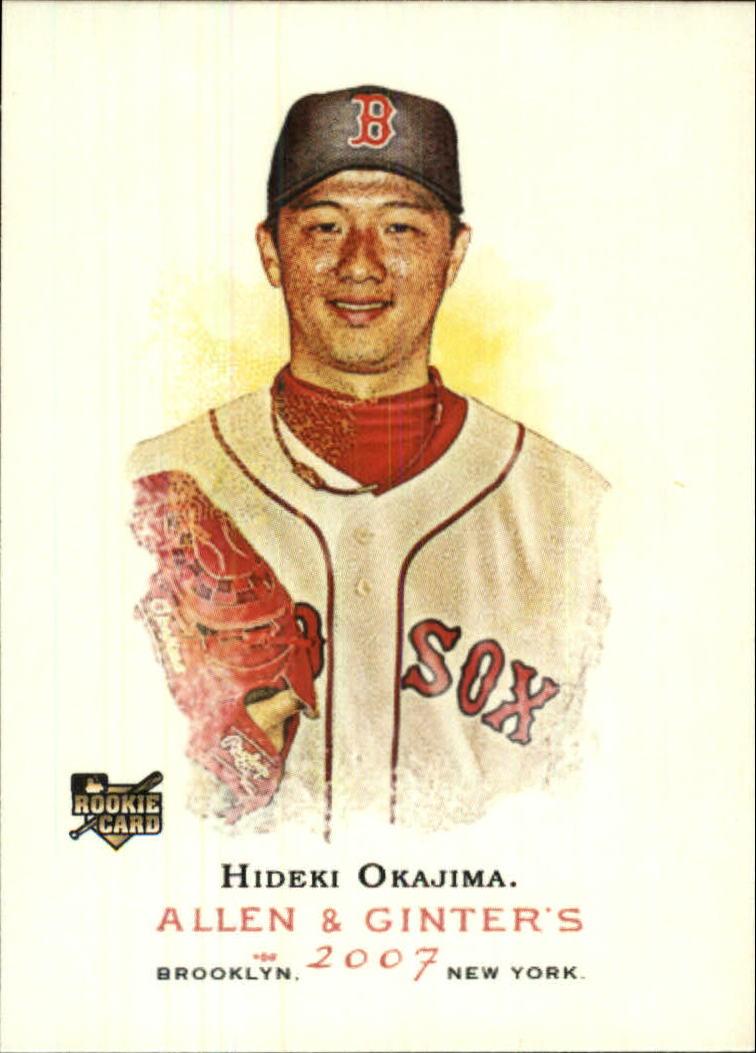 2007 Topps Allen and Ginter #217 Hideki Okajima RC