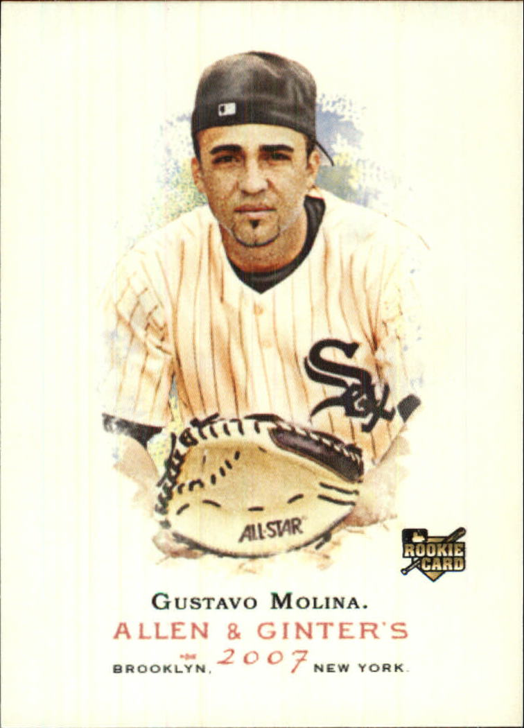 2007 Topps Allen and Ginter #334 Gustavo Molina SP RC