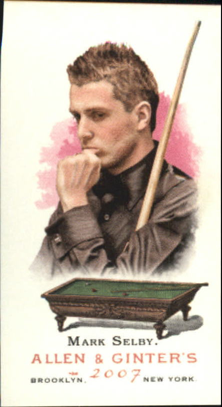 2007 Topps Allen and Ginter Mini #124 Mark Selby
