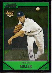 2007 Bowman Chrome #191 Andrew Miller RC