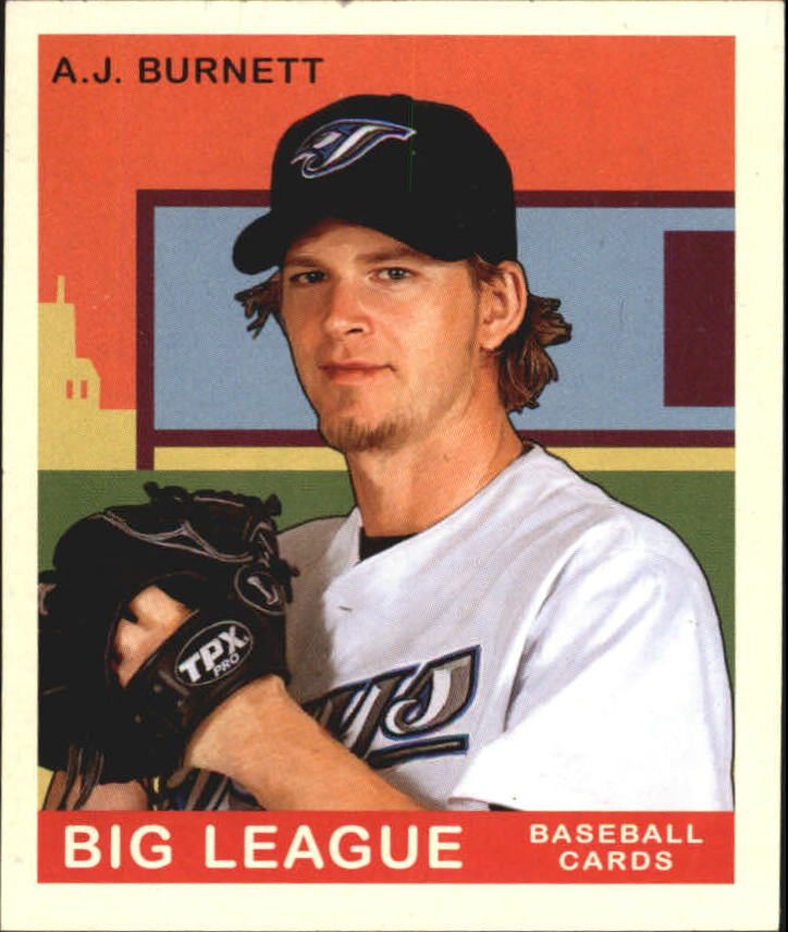 2007 Upper Deck Goudey #1 A.J. Burnett