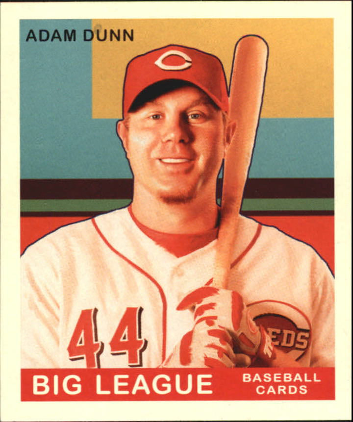2007 Upper Deck Goudey #4 Adam Dunn