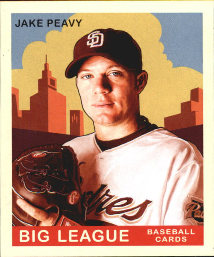 2007 Upper Deck Goudey #49 Jake Peavy