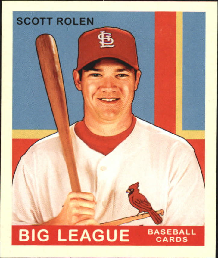 2007 Upper Deck Goudey #91 Scott Rolen