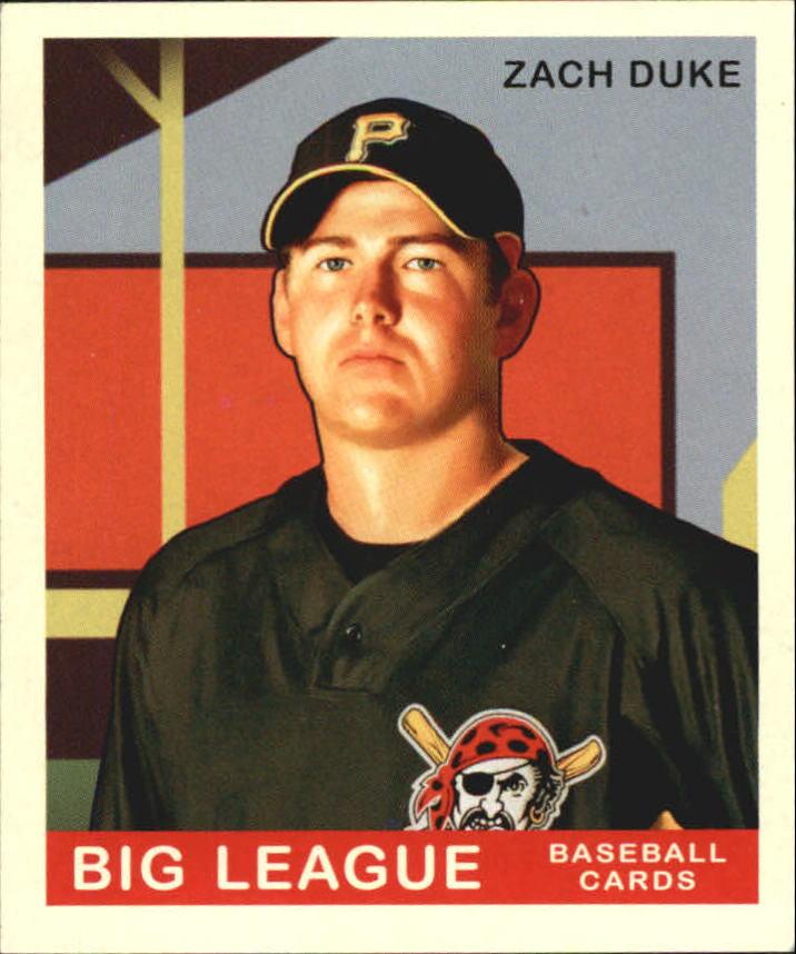2007 Upper Deck Goudey #100 Zach Duke