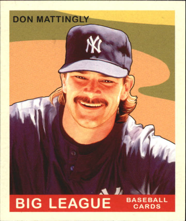 2007 Upper Deck Goudey #215 Don Mattingly SP