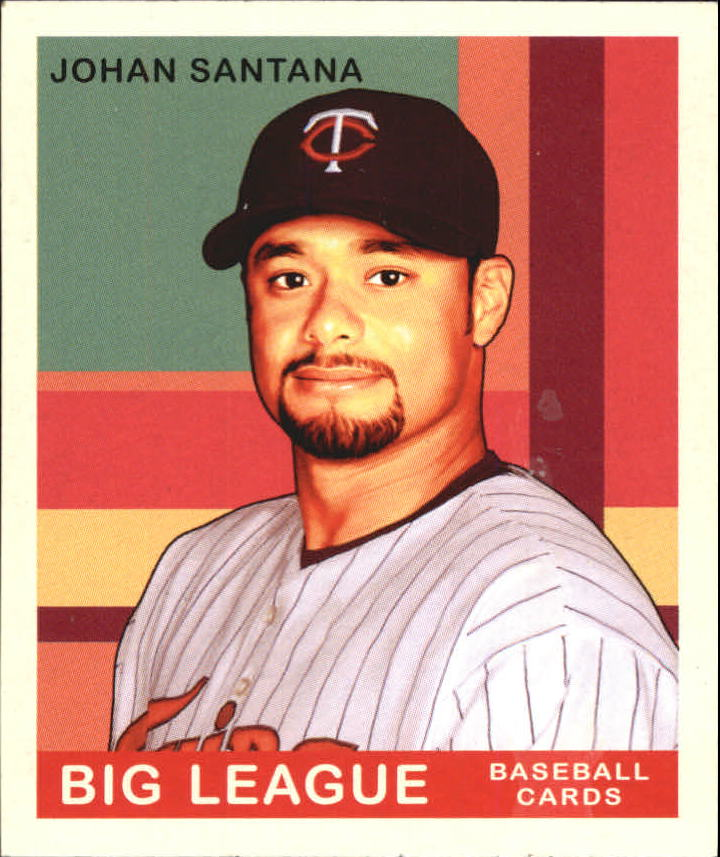 2007 Upper Deck Goudey #237 Johan Santana SP