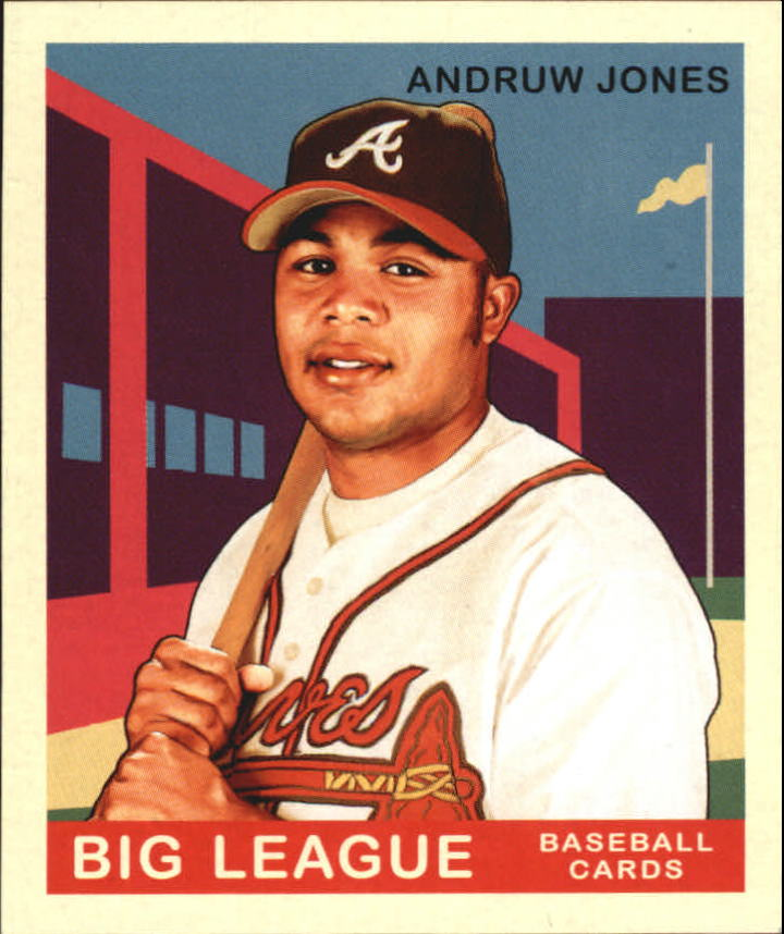2007 Upper Deck Goudey Red Backs #9 Andruw Jones