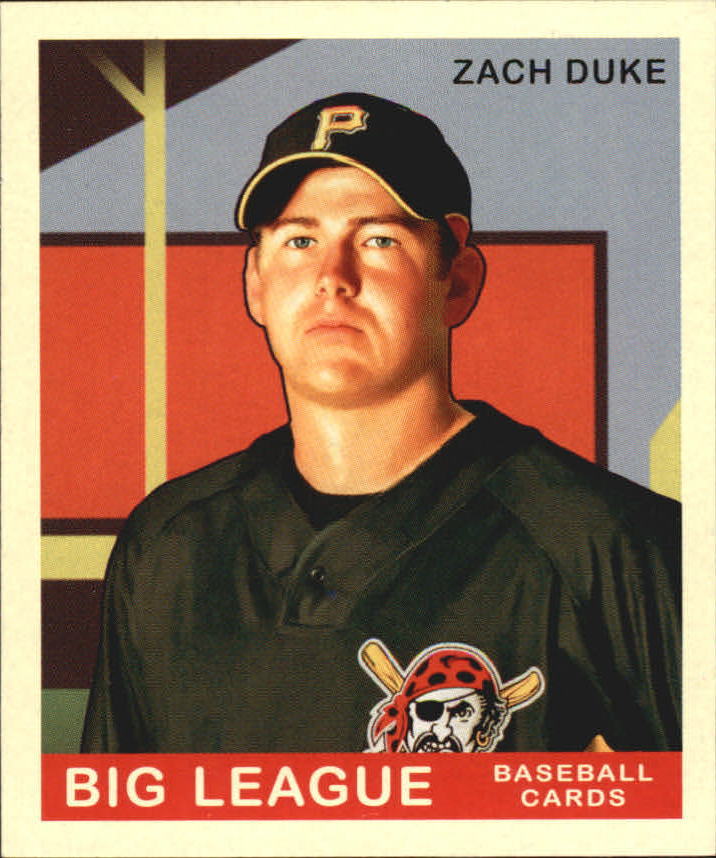 2007 Upper Deck Goudey Red Backs #100 Zach Duke