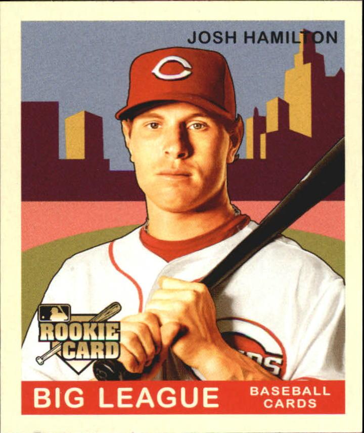 2007 Upper Deck Goudey Red Backs #162 Josh Hamilton (RC)