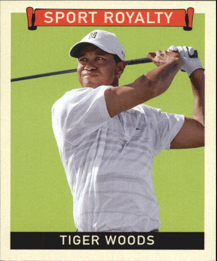 2007 Upper Deck Goudey Sport Royalty #TW Tiger Woods