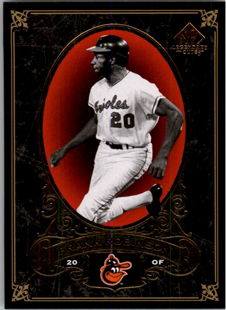 2007 SP Legendary Cuts #3 Frank Robinson
