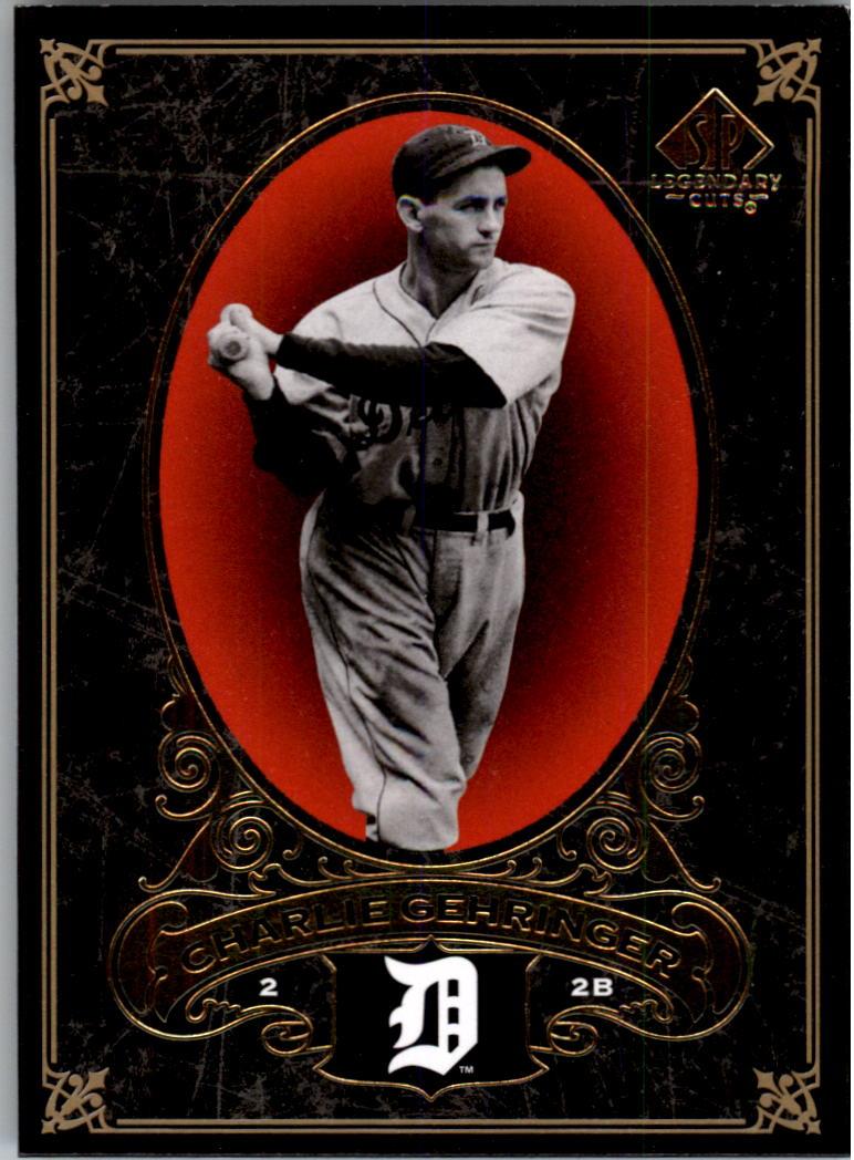 2007 SP Legendary Cuts #32 Charlie Gehringer