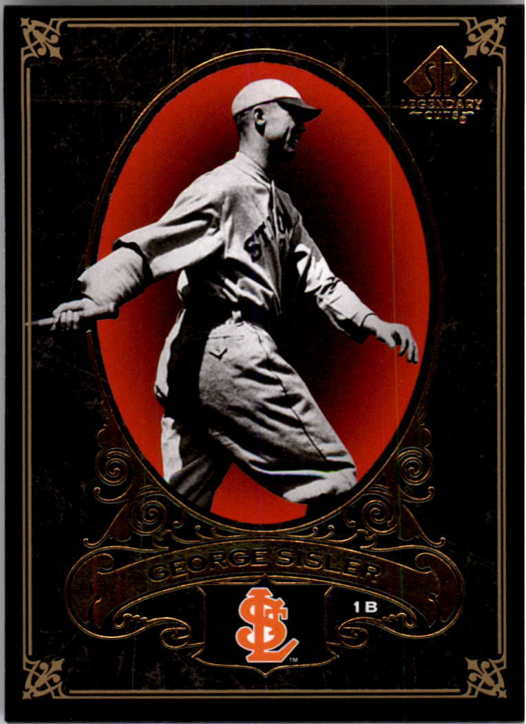 2007 SP Legendary Cuts #86 George Sisler