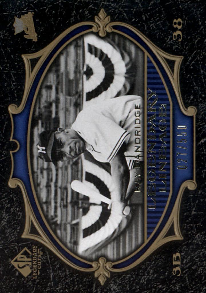 2007 SP Legendary Cuts #164 Ray Dandridge LL