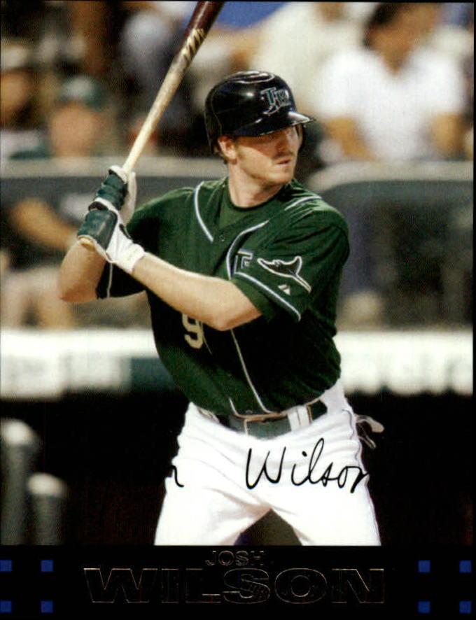 2007 Topps Update #4 Josh Wilson