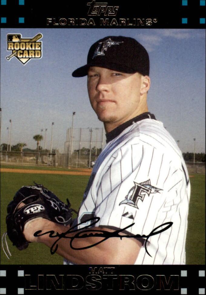 2007 Topps Update #178 Matt Lindstrom (RC)