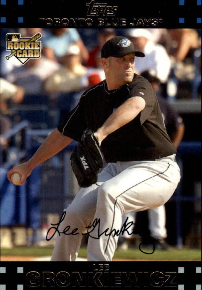2007 Topps Update #189 Lee Gronkiewicz RC