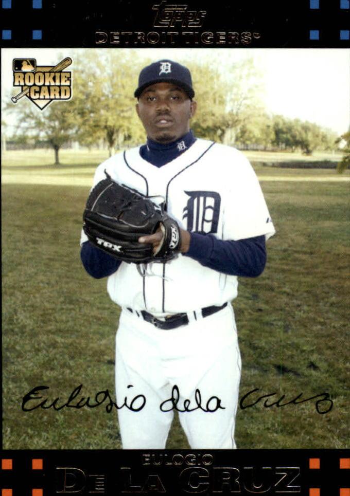 2007 Topps Update #190 Eulogio De La Cruz (RC)