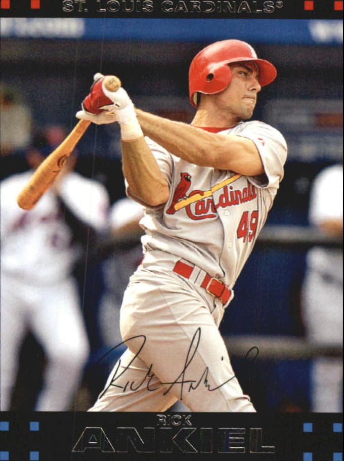 2007 Topps Update Red Back #85 Rick Ankiel