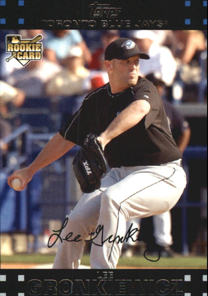 2007 Topps Update Red Back #189 Lee Gronkiewicz