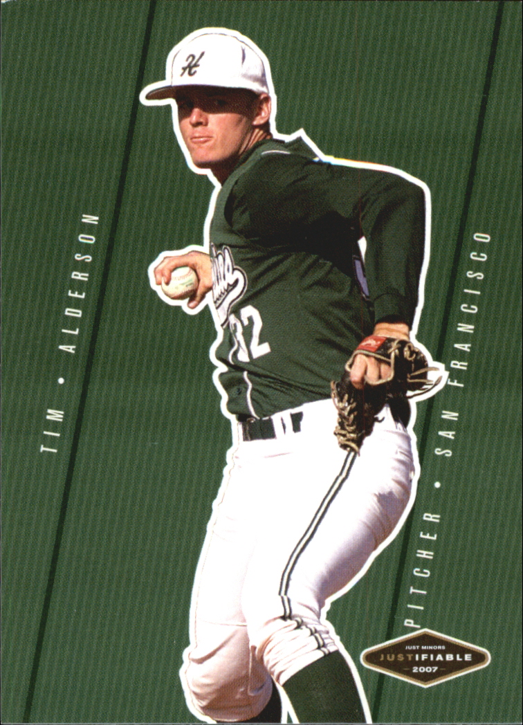 2007 Justifiable #2 Tim Alderson