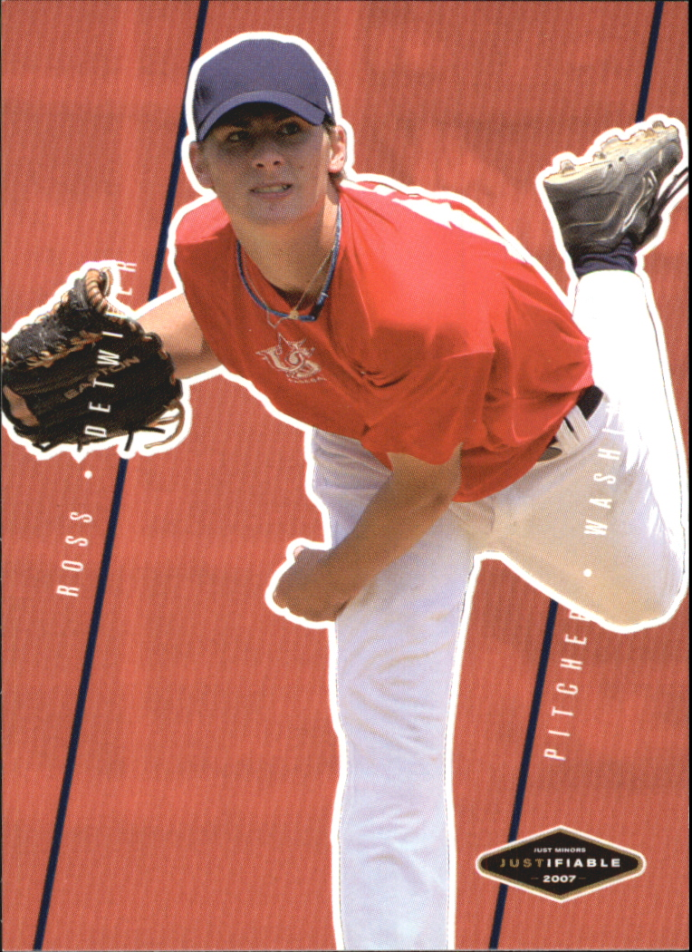 2007 Justifiable #9 Ross Detwiler