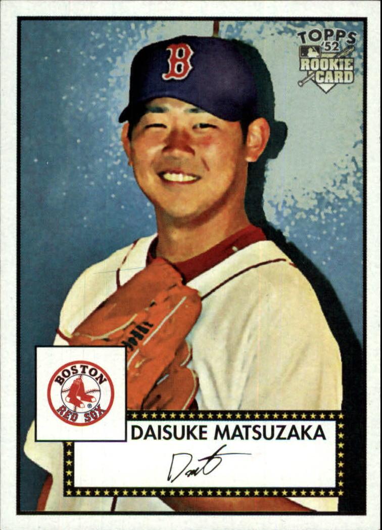 2007 Topps 52 #50a Daisuke Matsuzaka RC