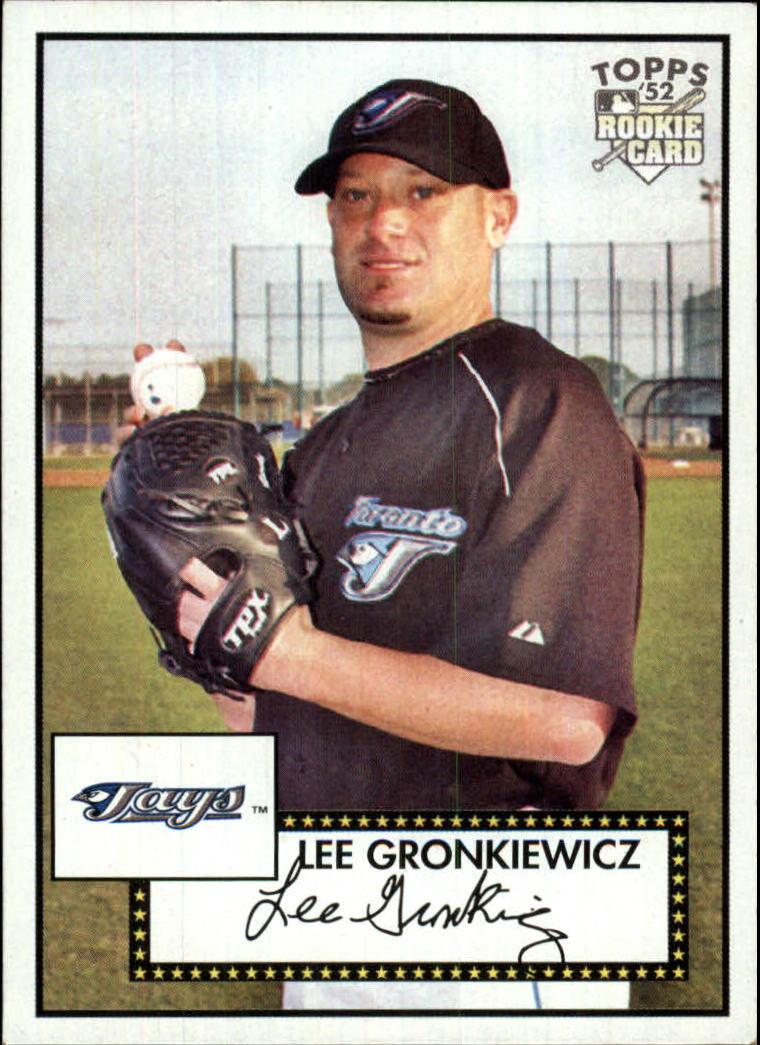 2007 Topps 52 #146 Lee Gronkiewicz RC