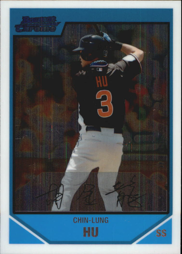 2007 Bowman Chrome Draft Future's Game Prospects #BDPP92 Chin-Lung Hu