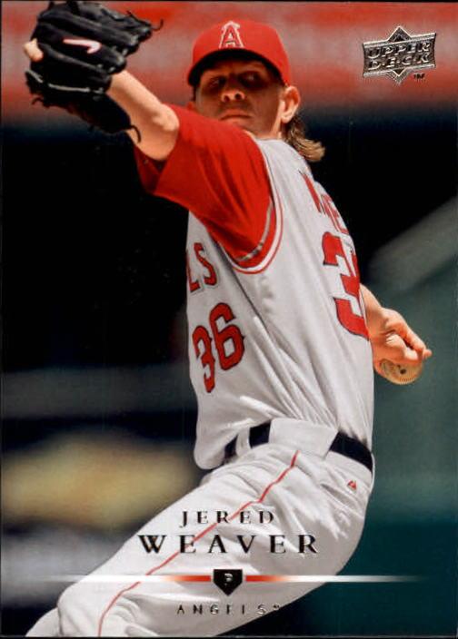 2008 Upper Deck #3 Jered Weaver