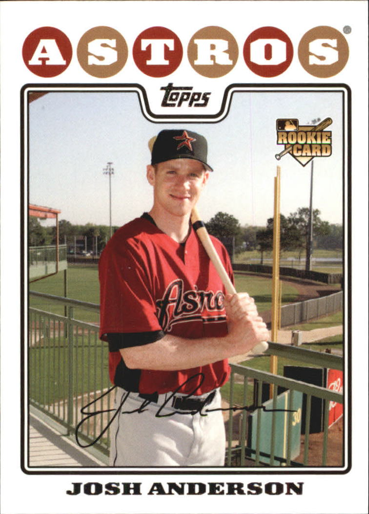 2008 Topps #177 Josh Anderson (RC)